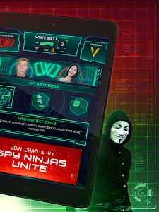 screenshot of Spy Ninja Network - Chad & Vy version 2.5