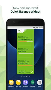 screenshot of St.George Mobile Banking version Varies with device