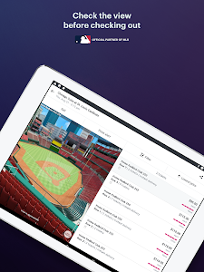 screenshot of StubHub - Live Event Tickets version 7.11.0