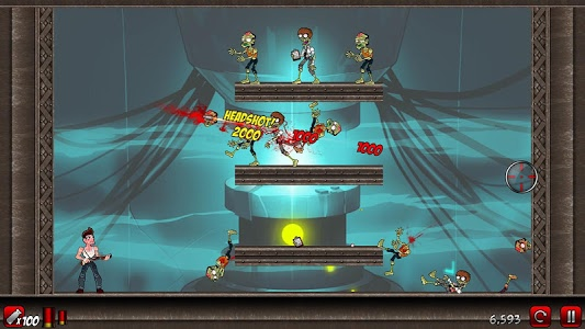 screenshot of Stupid Zombies 2 version 1.5.1
