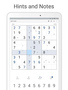 screenshot of Sudoku.com version 1.3.8