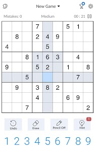 screenshot of Sudoku - ?Free Classic Sudoku Puzzles? version 1.2.12