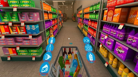 screenshot of Supermarket VR Cardboard version 1.13
