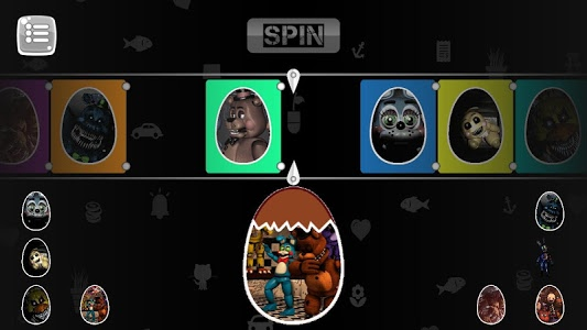 screenshot of Surprise Egg Freddy 5 version 1.2