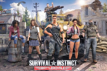 screenshot of Survival Instinct: Battle Royale version 11.25