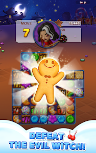 screenshot of Sweet Road: Cookie Rescue Free Match 3 Puzzle Game version 6.6.9