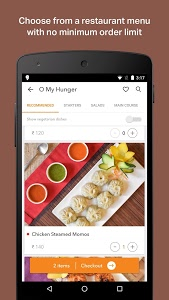 screenshot of Swiggy Food Order & Delivery version 1.7.3