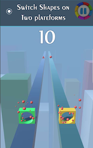 screenshot of Switch Shapes version 0.5