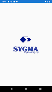 screenshot of Sygma Driver Portal version Varies with device