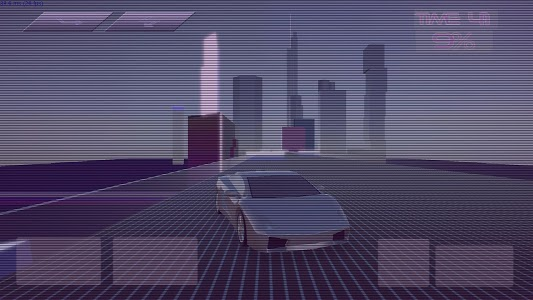 screenshot of Synthwave Driver 3D - Retrowave Racing Game version 0.5.3