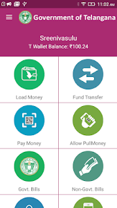 screenshot of T Wallet- Govt Bill Payment, Money Transfer version Varies with device