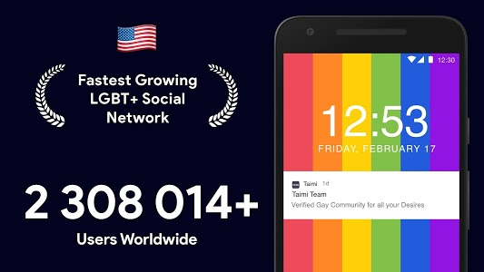 screenshot of Taimi - LGBTQI+ Dating, Chat and Social Network version 5.1.32