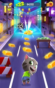 screenshot of Talking Tom Gold Run version 4.0.0.477