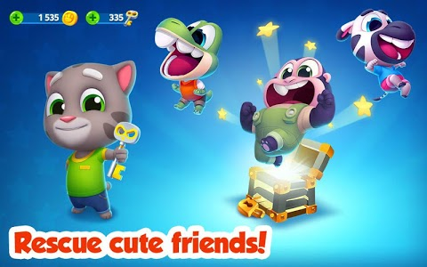 screenshot of Talking Tom Splash Force version 1.0.3.186