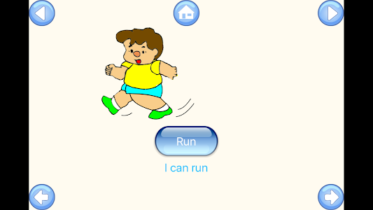 screenshot of Teach My Baby First Words version 1.0