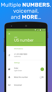 screenshot of TextMe Up Free Calling & Texts version 3.18.3
