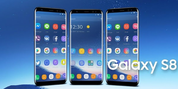 screenshot of Theme for Samsung S8 version 1.1.5