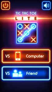 screenshot of Tic Tac Toe glow - Free Puzzle Game version 3.0