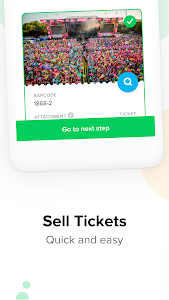 screenshot of TicketSwap - Buy, Sell Tickets version 19.10.1322