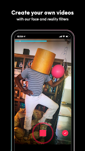screenshot of TikTok version 9.1.5