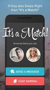 screenshot of Tinder version 6.4.1