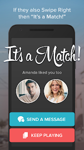 screenshot of Tinder version 5.3.2
