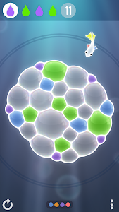 screenshot of Tiny Bubbles version 1.6.0
