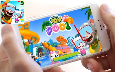 screenshot of New Talking Tom Pool Party Guide version 1.0