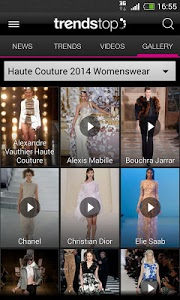 screenshot of Trendstop Fashion TrendTracker version Varies with device