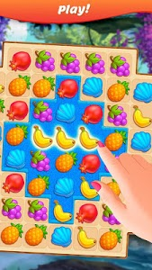 screenshot of Tropical Forest: Match 3 Story version 0.170