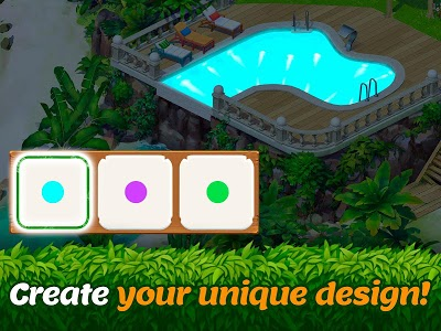 screenshot of Tropical Forest: Match 3 Story version 0.140