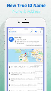 screenshot of Track Caller Address and Location version 4.4