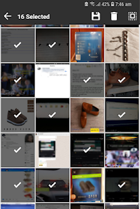 screenshot of Unseen Gallery -Cached images & thumbnails Manager version 1.3
