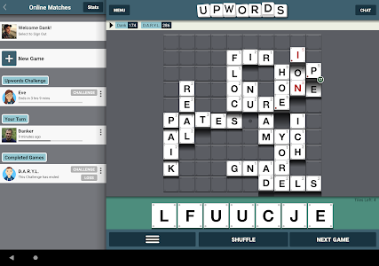 screenshot of Upwords 2 version 2.011