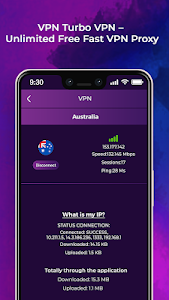 screenshot of VPN Turbo VPN – Unlimited Free Fast VPN Proxy version 4.0