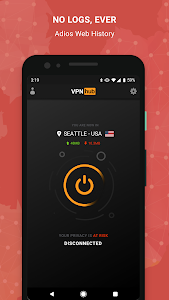 screenshot of VPNhub Best Free Unlimited VPN - Secure WiFi Proxy version Varies with device
