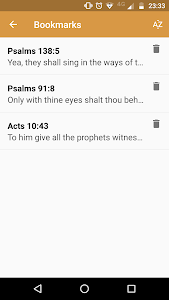 screenshot of Verse of the Day version 1.2.1.11