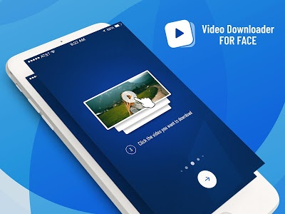 screenshot of Video Downloader for FB version 2.5.1