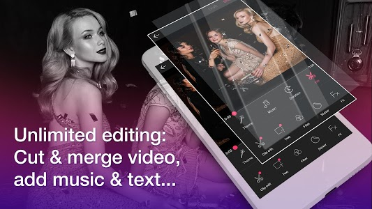 screenshot of Video Editor With Music App, Video Maker Of Photo version 2.3.6