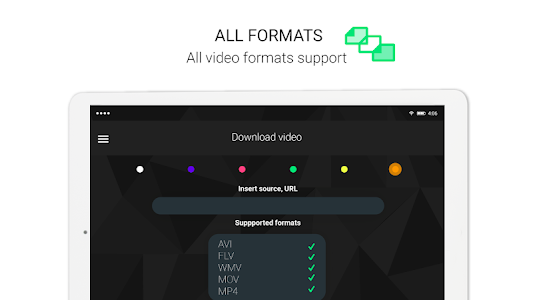 screenshot of Video Player for Android version 1.14