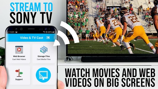 screenshot of Video & TV Cast | Sony TV - Stream Free Movies version 1.10