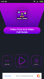 screenshot of Video chat and Video Call Guide version 1.1