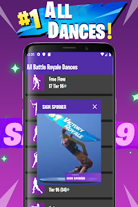screenshot of Viewer Dance: All Battle Royale Dances and Emotes version 24