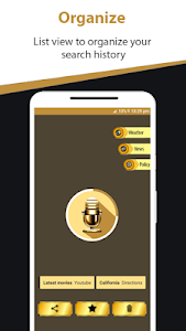 screenshot of Voice Search - Speech to Text Searching Assistant version 9.4.3