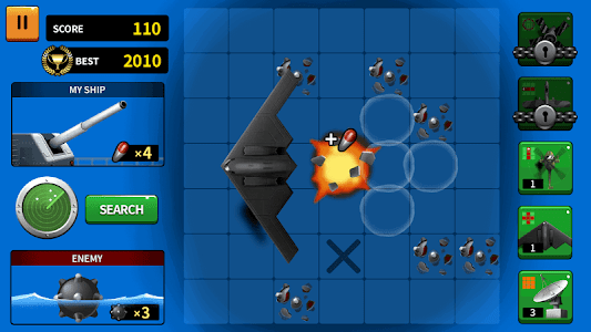 screenshot of Warship Battle Commander version 1.0.10