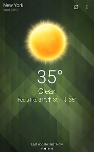 screenshot of Weather version 5.1.7