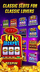 screenshot of Classic Slots™ - Best Wild Casino Games version 3.5.1