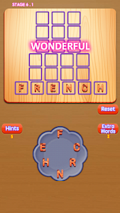 screenshot of Word Connect Cookies Master Puzzle Word Game version 1.0.0