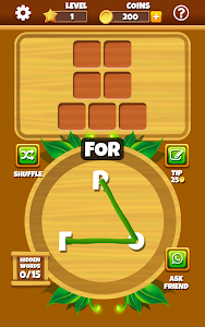 screenshot of Word Jungle - FREE Word Games Puzzle version 2.9.1.176