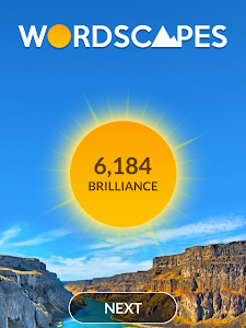 screenshot of Wordscapes version 1.0.9
